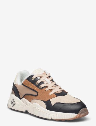 Nicewill Sneaker - low top sneakers - beige/black