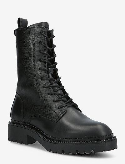 Kelliin Mid Boot - flache stiefeletten - black