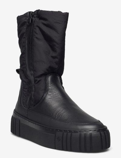 Snowmont Mid Boot - platta ankelboots - black