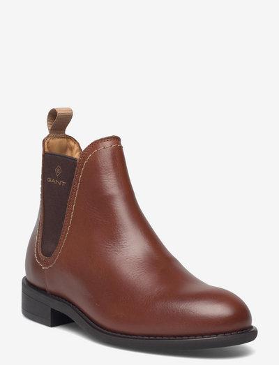 Ainsley Chelsea Boot - chelsea boots - cognac