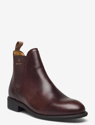 Ainsley Chelsea Boot - chelsea boots - dark brown