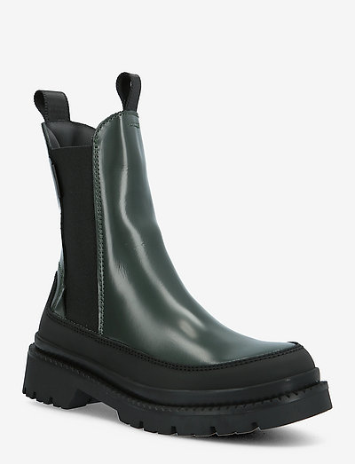 Prepnovo Chelsea Boot - chelsea boots - tartan green/black