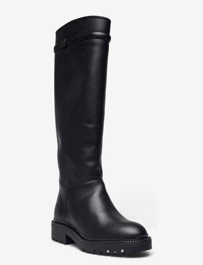 Kelliin Long Shaft Boot - höga stövlar - black