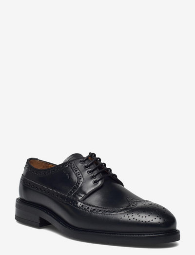 Flairville Low LaceShoe - laced shoes - black