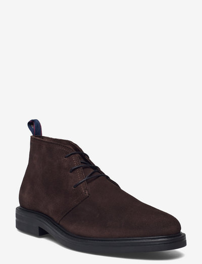 Kyree Mid Boot - desert boots - dark brown