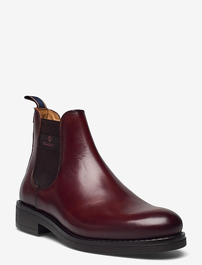 Brookly Chelsea Boot - chelsea boots - cognac/dk brown