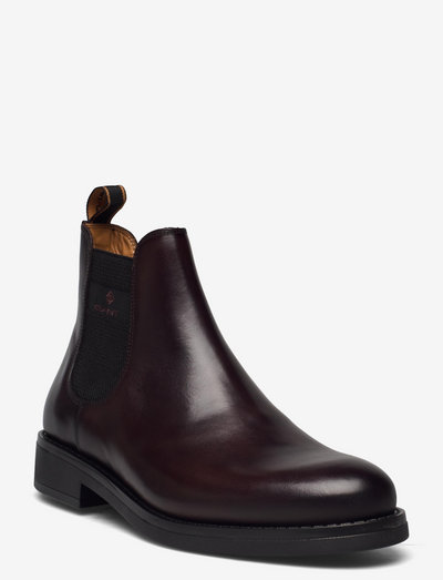 Brookly Chelsea Boot - chelsea boots - dk brown/black