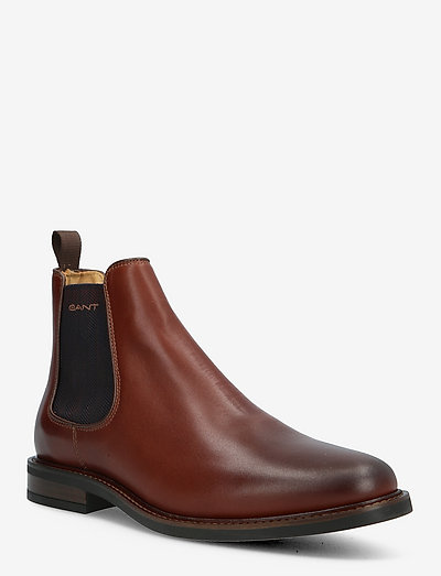 St Akron Chelsea Boot - chelsea boots - cognac