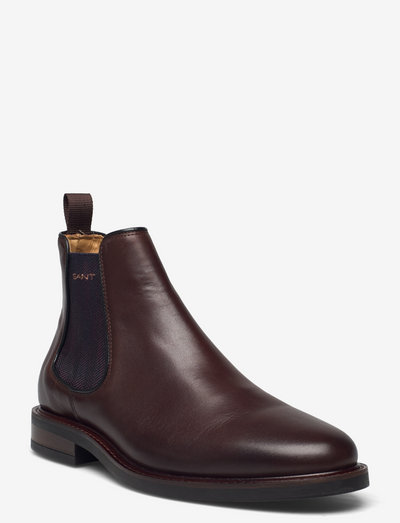 St Akron Chelsea Boot - chelsea boots - dark brown