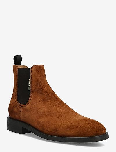 Brockwill Chelsea Boot - new arrivals - cognac