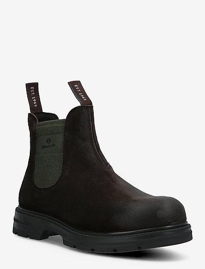 Gretty Chelsea Boot - chelsea boots - espresso