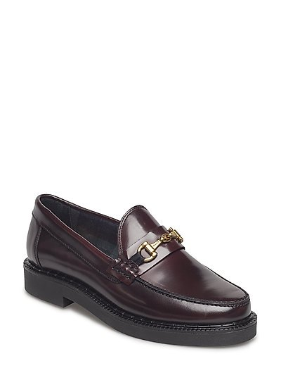 Kelly Moccasin - PORT WINE RED