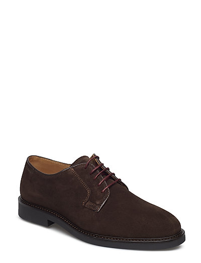 Spencer Low lace shoes - DARK BROWN
