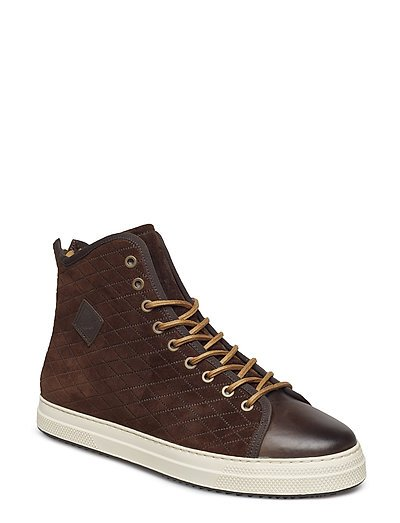 Star Mid lace boot - DARK BROWN