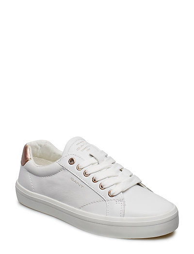 440c812966 Baltimore Low Lace Shoes (Bright Wht./rose Gold) (£70) - GANT ...