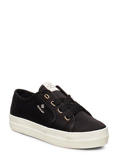 Leisha Low Lace Shoes Niedrige Sneaker Schwarz GANT