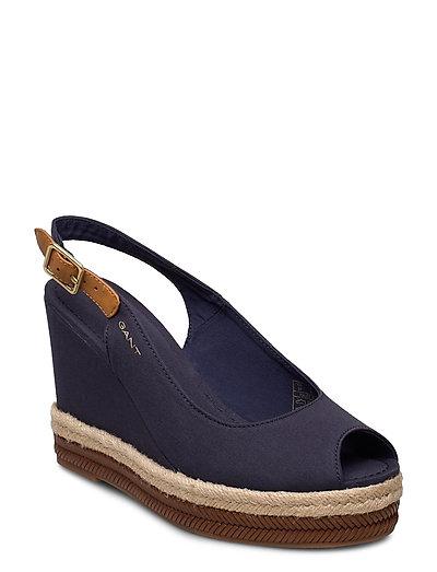 Ivalice Wedge Sandal Sandale Mit Absatz Espadrilles Blau GANT