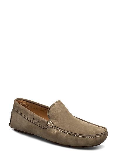Nicehill Moccasin Loafers Flache Schuhe Braun GANT