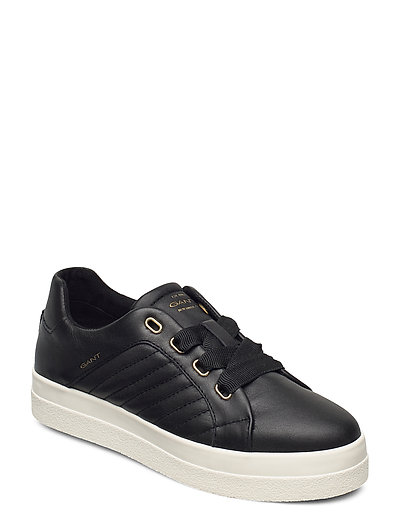 Avona Low Lace Shoes Niedrige Sneaker Schwarz GANT | GANT SALE