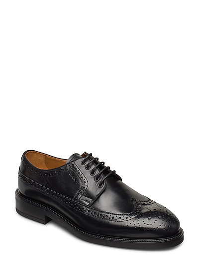 Flairville Low Laceshoes Shoes Business Laced Shoes Schwarz GANT