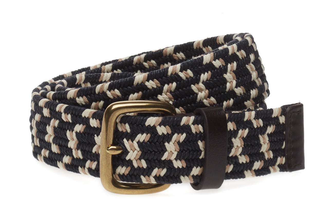 GAP Stretch Webbing Belt - SMOKED INDIGO