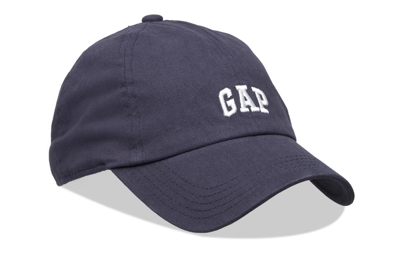 GAP V-MICRO LOGO BASEBALL HAT - NAVY UNIFORM