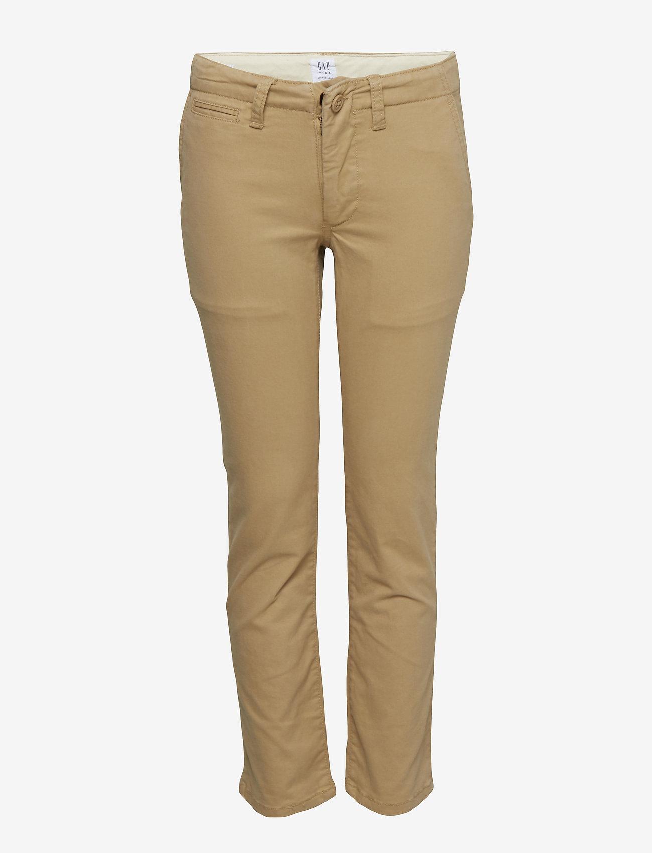GAP - Kids Chinos with Washwell™ - trousers - new british khaki - 0