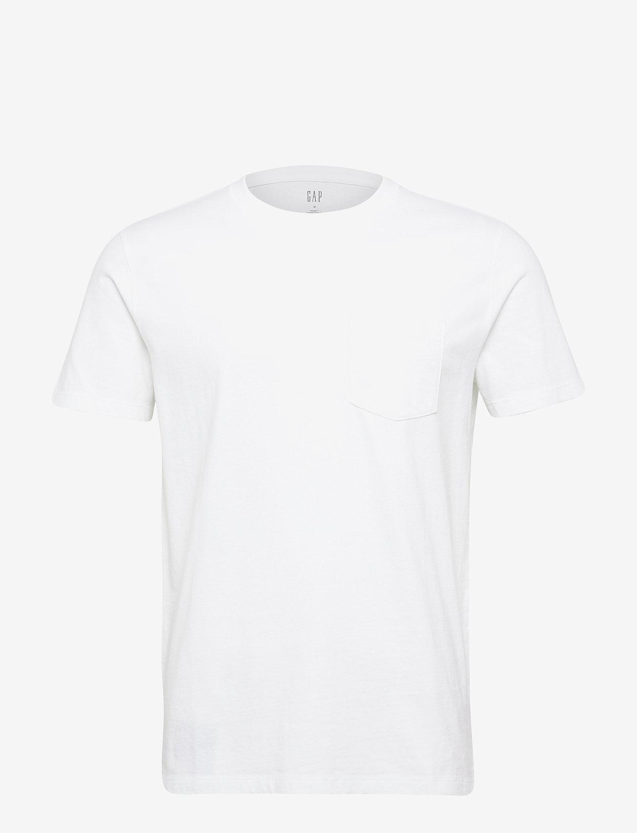 GAP - Pocket T-Shirt - basic t-shirts - optic white - 0