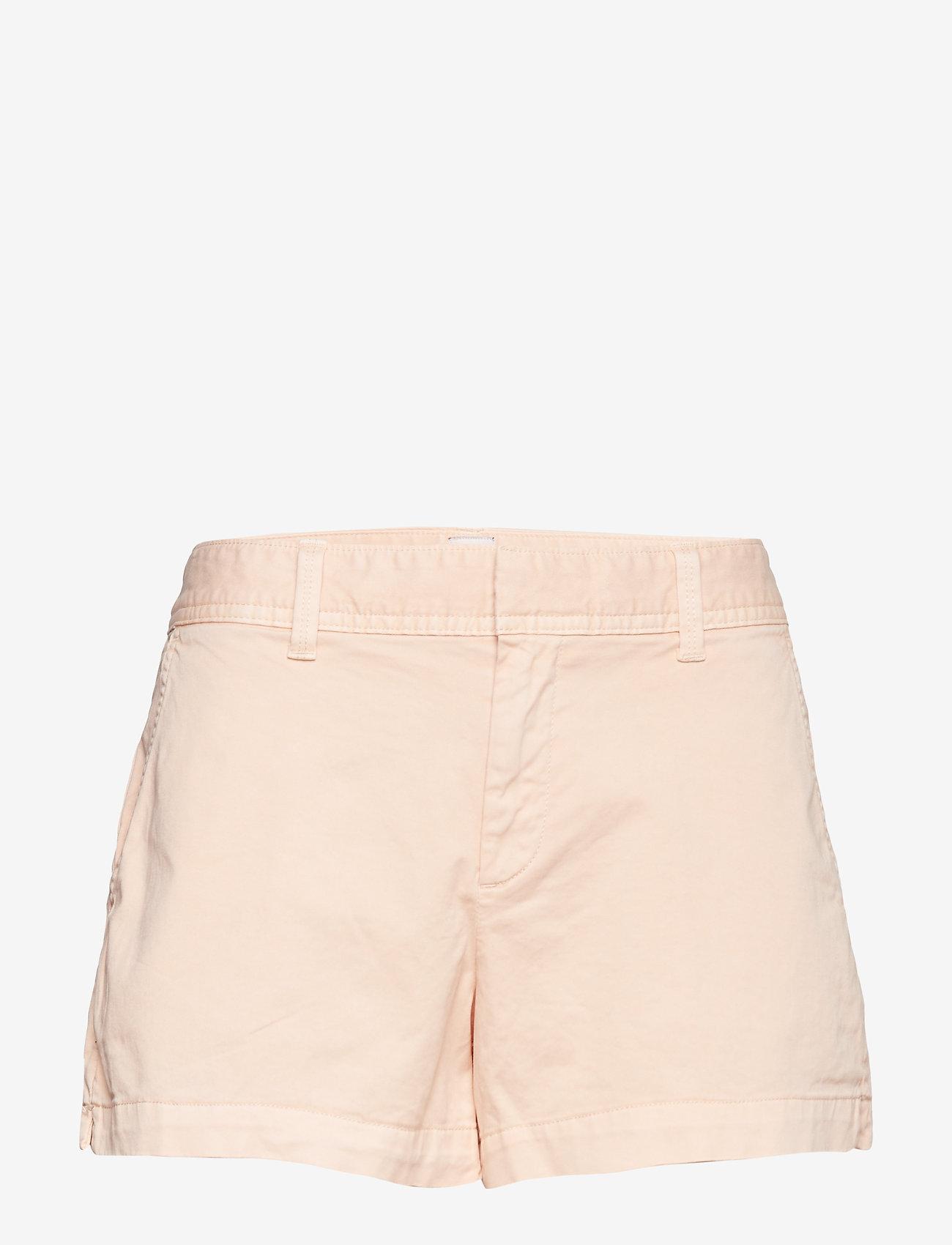 "GAP - Mid Rise 3"" City Shorts - casual shorts - peach martini - 0"