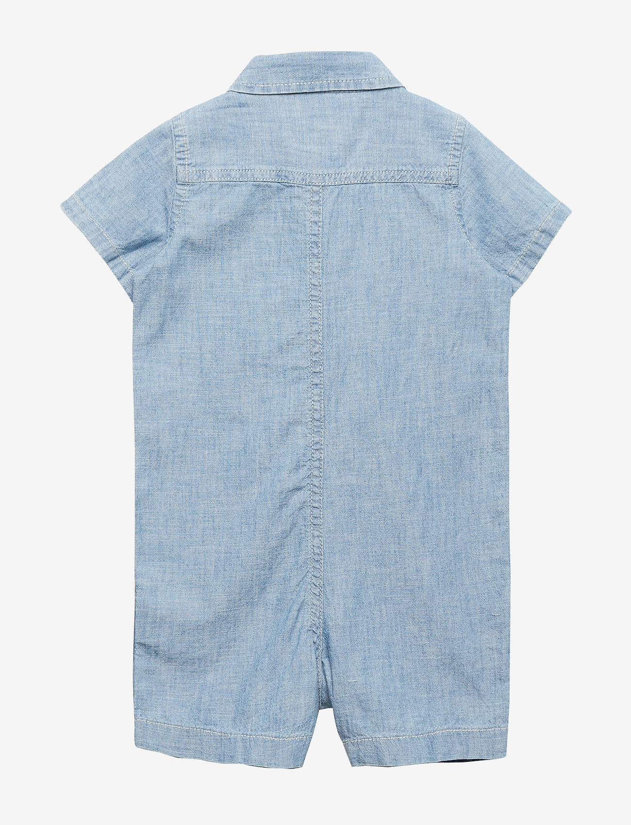 GAP - Baby Star Denim Shorty One-Piece - lyhythihaiset - medium wash