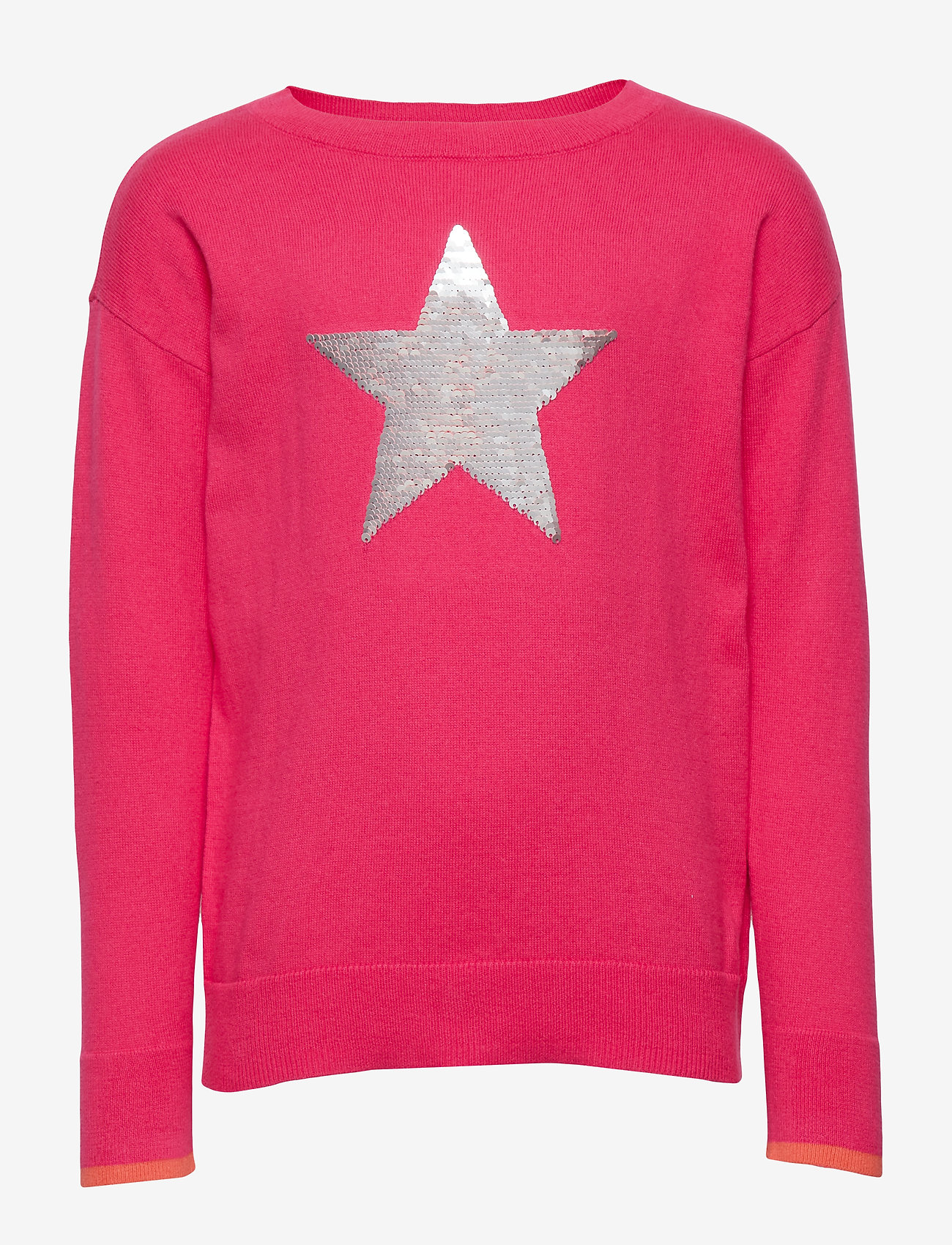 GAP - Kids Flippy Sequin Sweater - neuleet - jelly bean pink