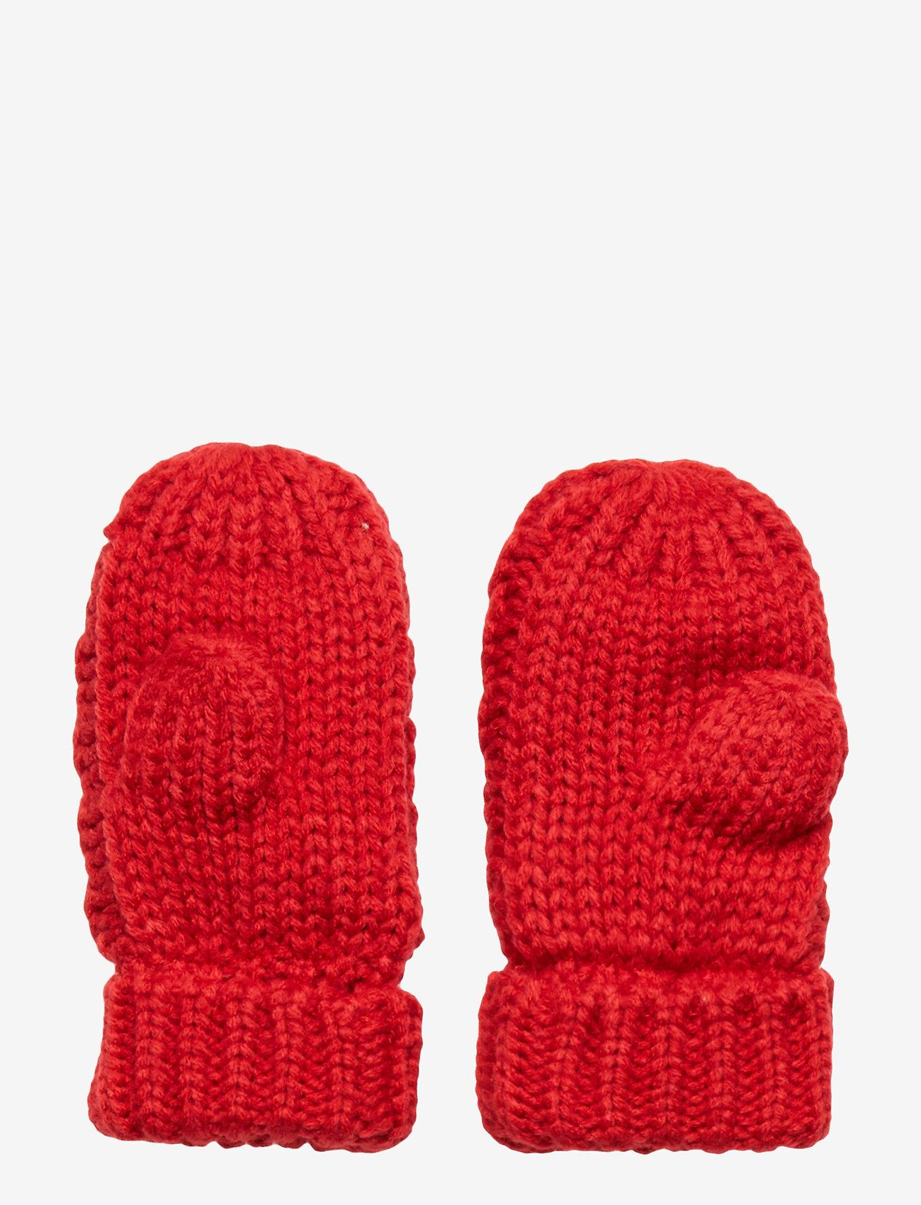 GAP - Toddler Cable-Knit Mittens - käsineet - modern red 2