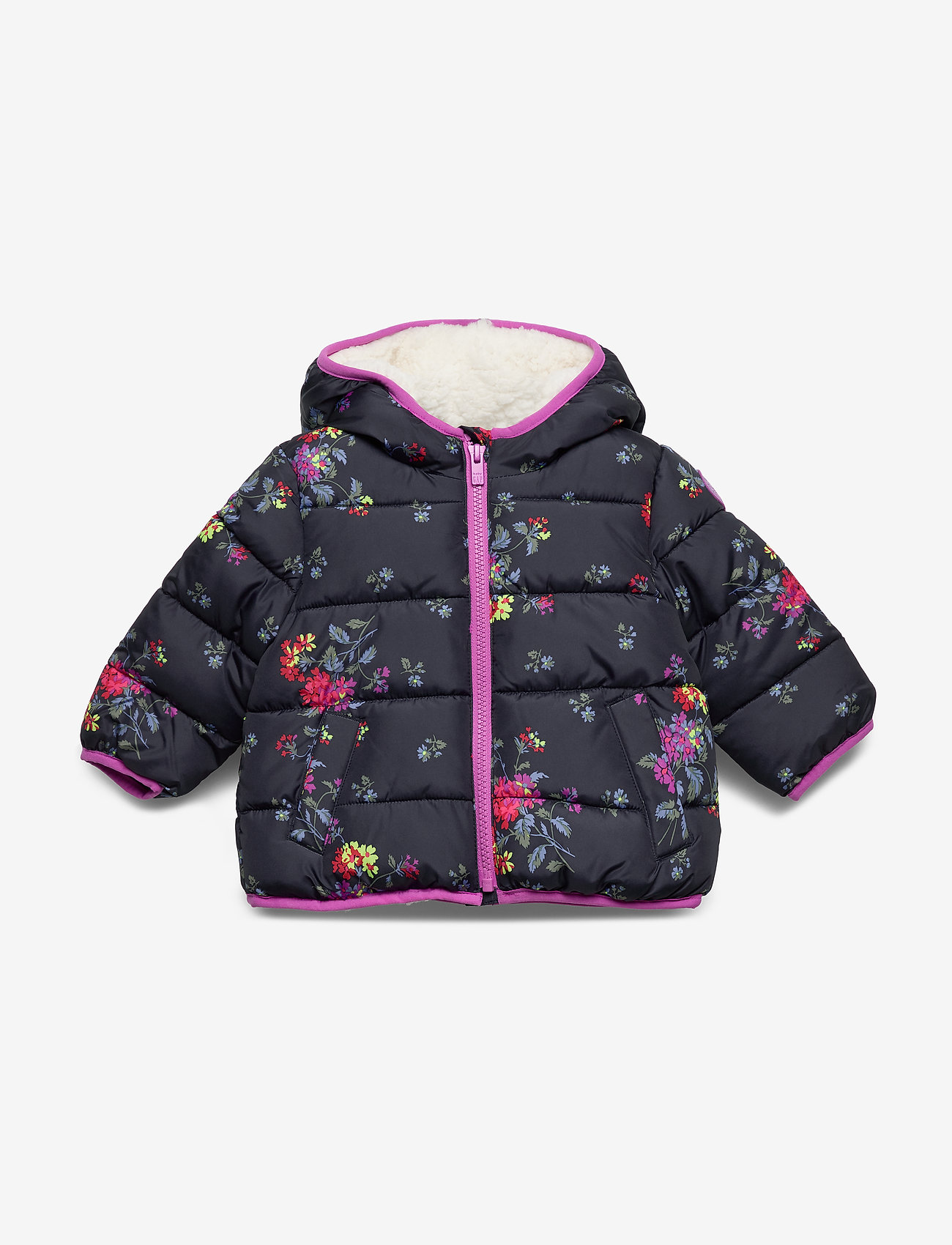 GAP - Toddler ColdControl Max Puffer - untuva- & toppatakit - navy floral