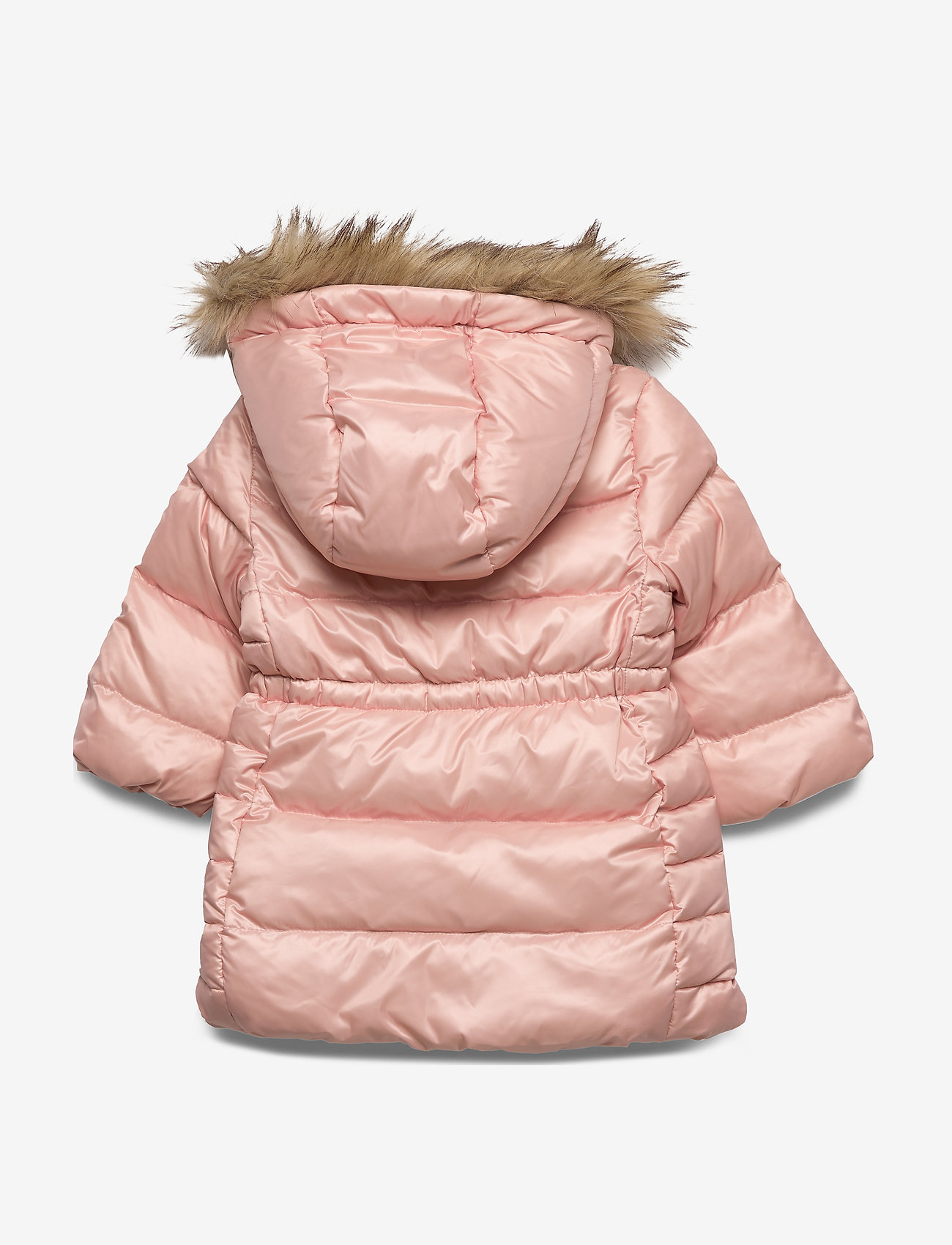 GAP - Toddler ColdControl Ultra Max Down Long Parka - untuva- & toppatakit - pink champagne