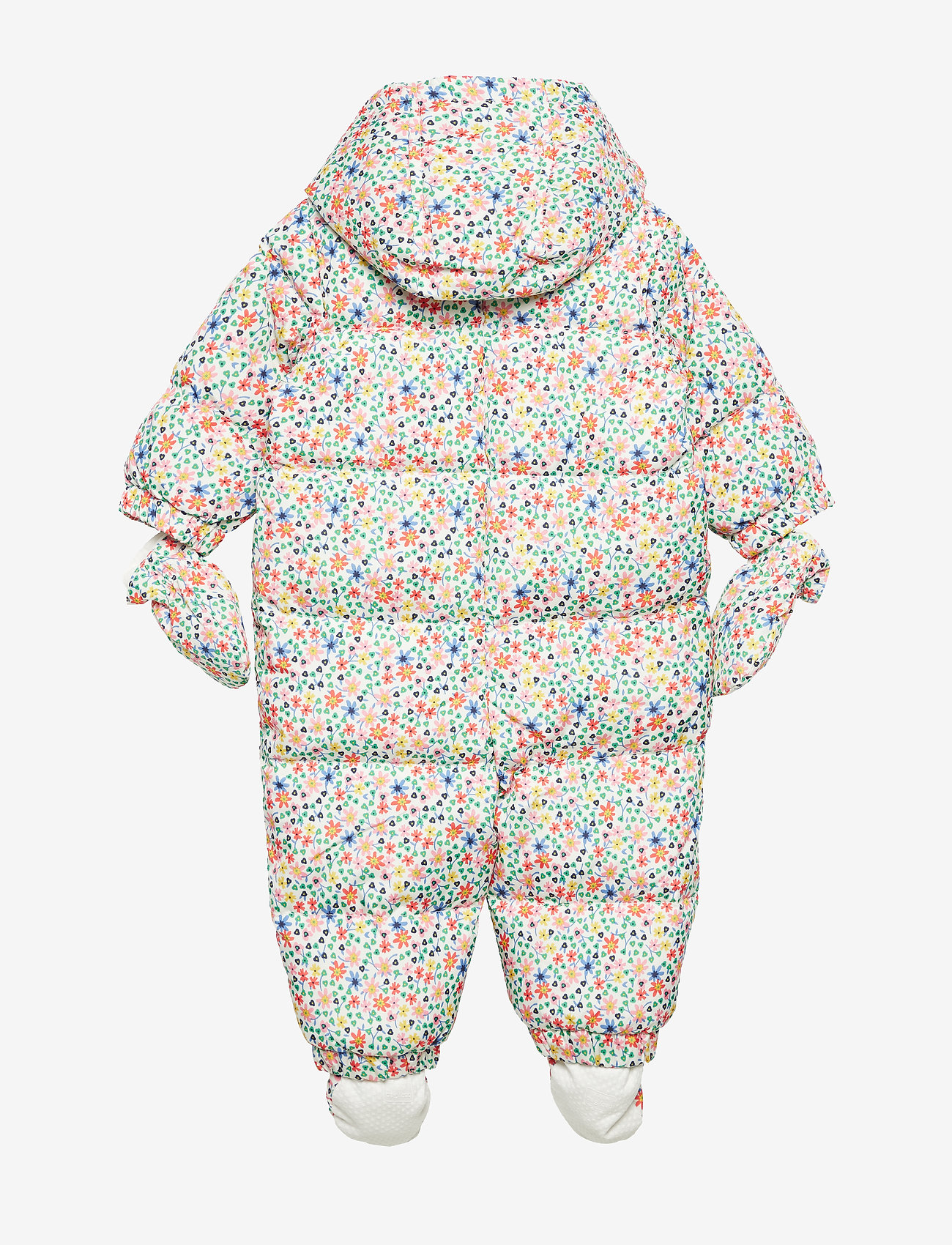 GAP - Baby ColdControl Ultra Max Down Snowsuit - talvihaalari - white floral print