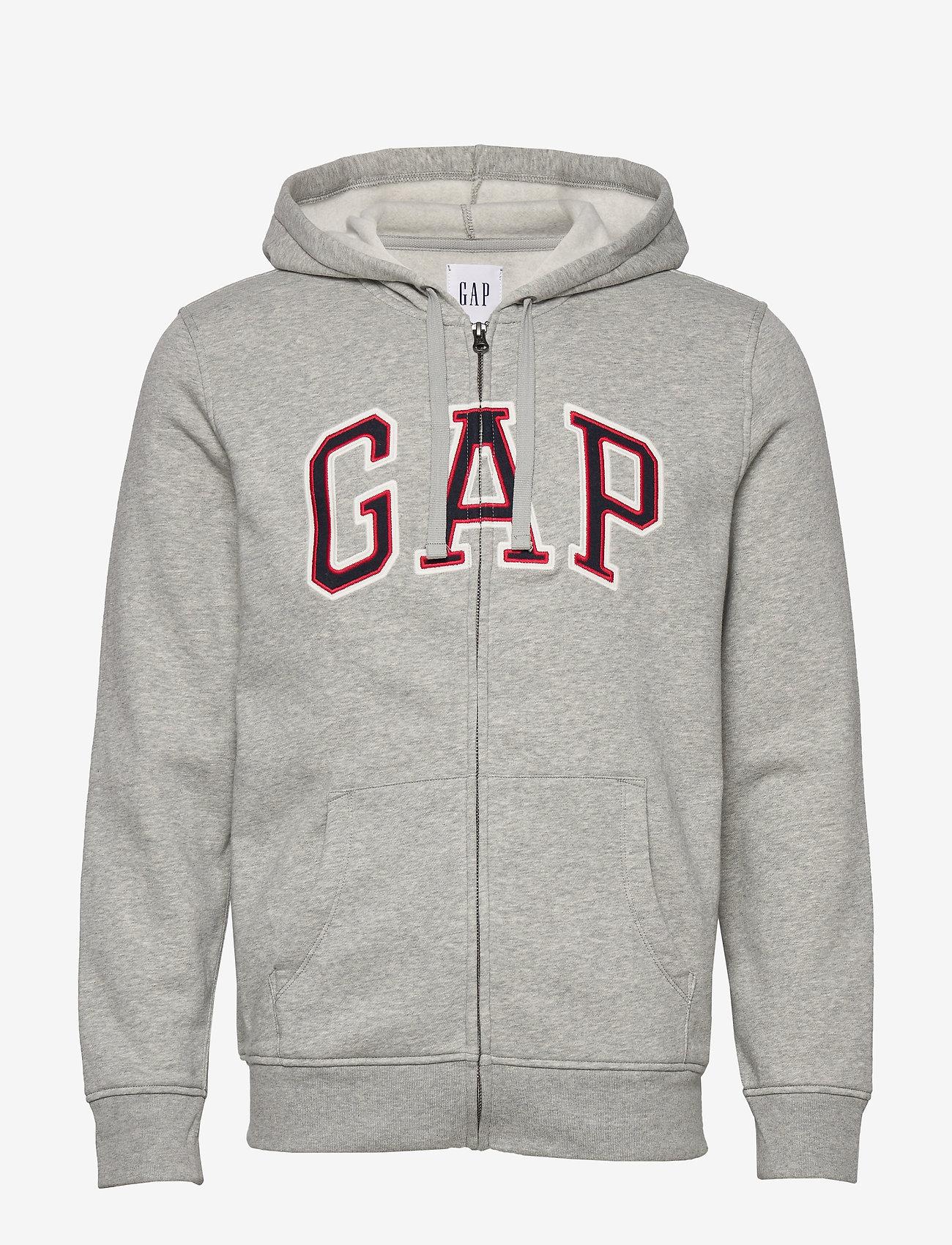 GAP - Gap Logo Hoodie - hoodies - b10 grey heather - 0