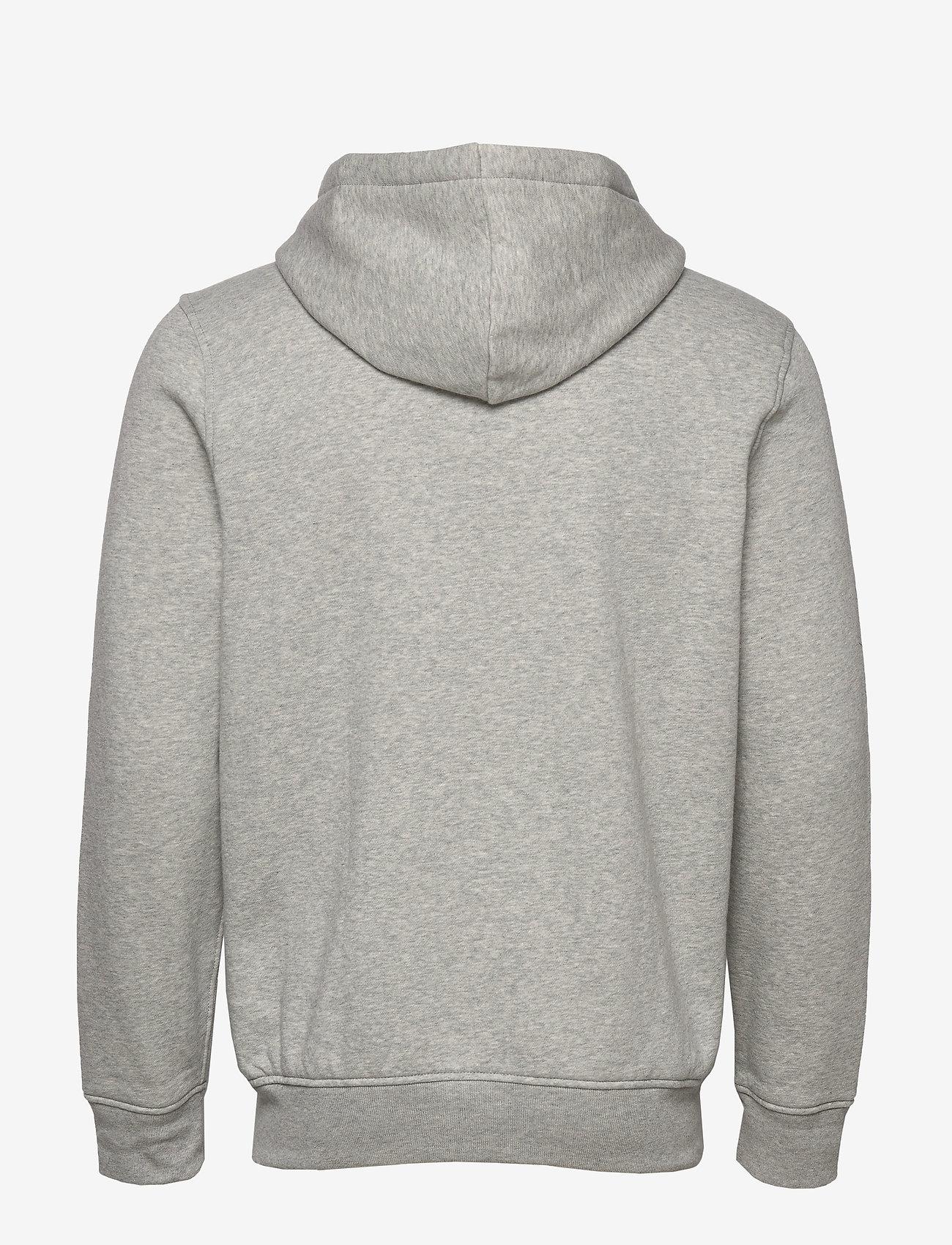 GAP - Gap Logo Hoodie - hoodies - b10 grey heather - 1