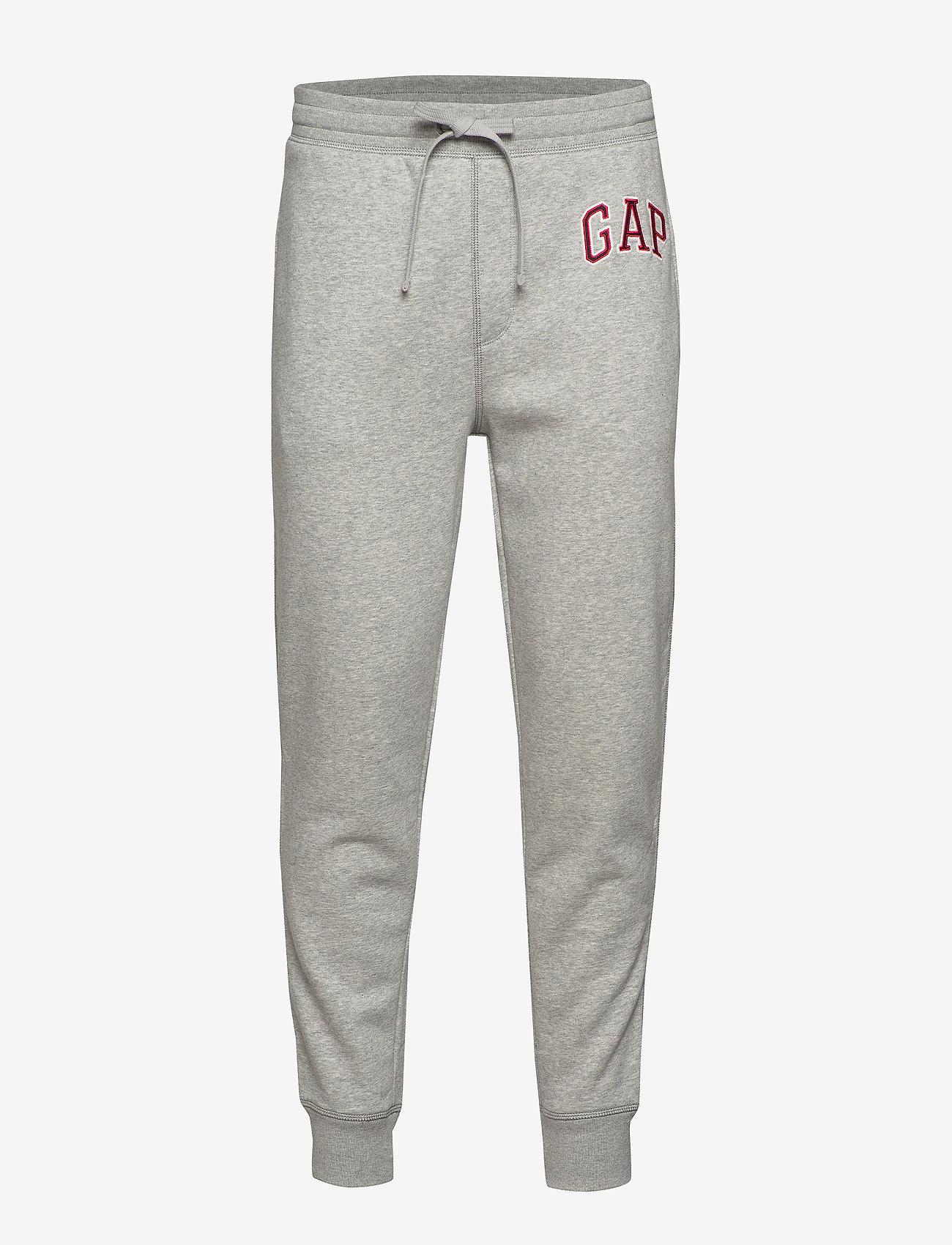 GAP - Gap Logo Joggers - odzież - b10 grey heather - 0