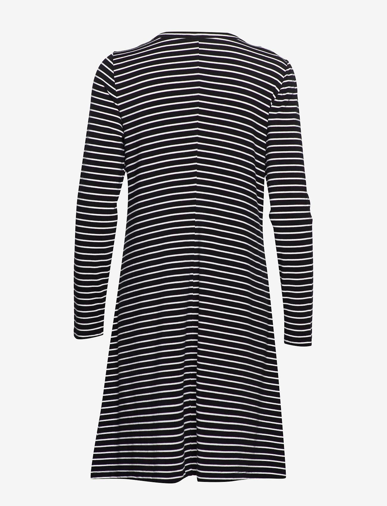 U-neck Swing Dress (Black/white Strp - J) (22.50 €) - GAP dqwGK