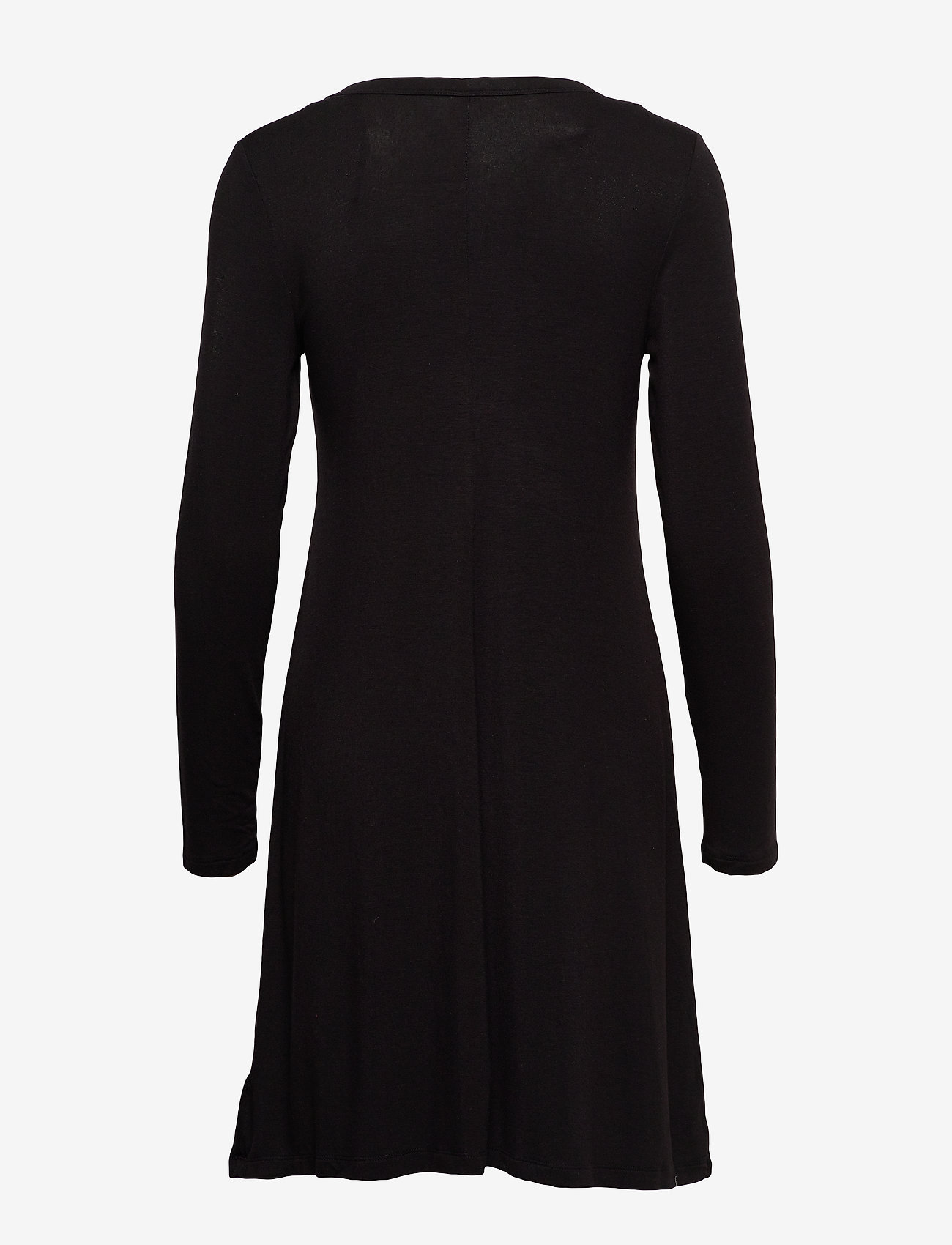 GAP U-Neck Swing Dress - Sukienki TRUE BLACK V2 2 - Kobiety Odzież.