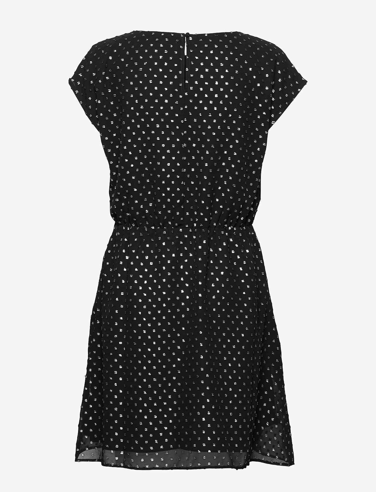 Metallic Clip-dot Skater Dress (True Black V2) - GAP p9GiwS