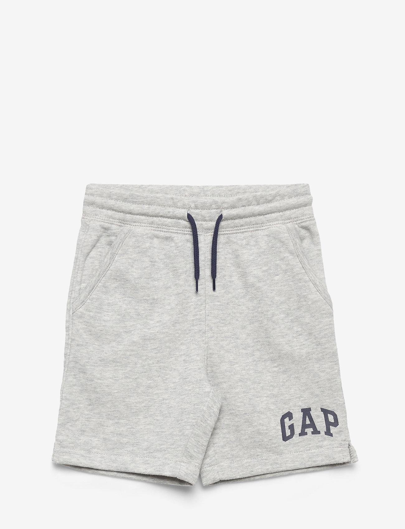 GAP - HS FT LOGO SHORT - shorts - light grey heather - 0