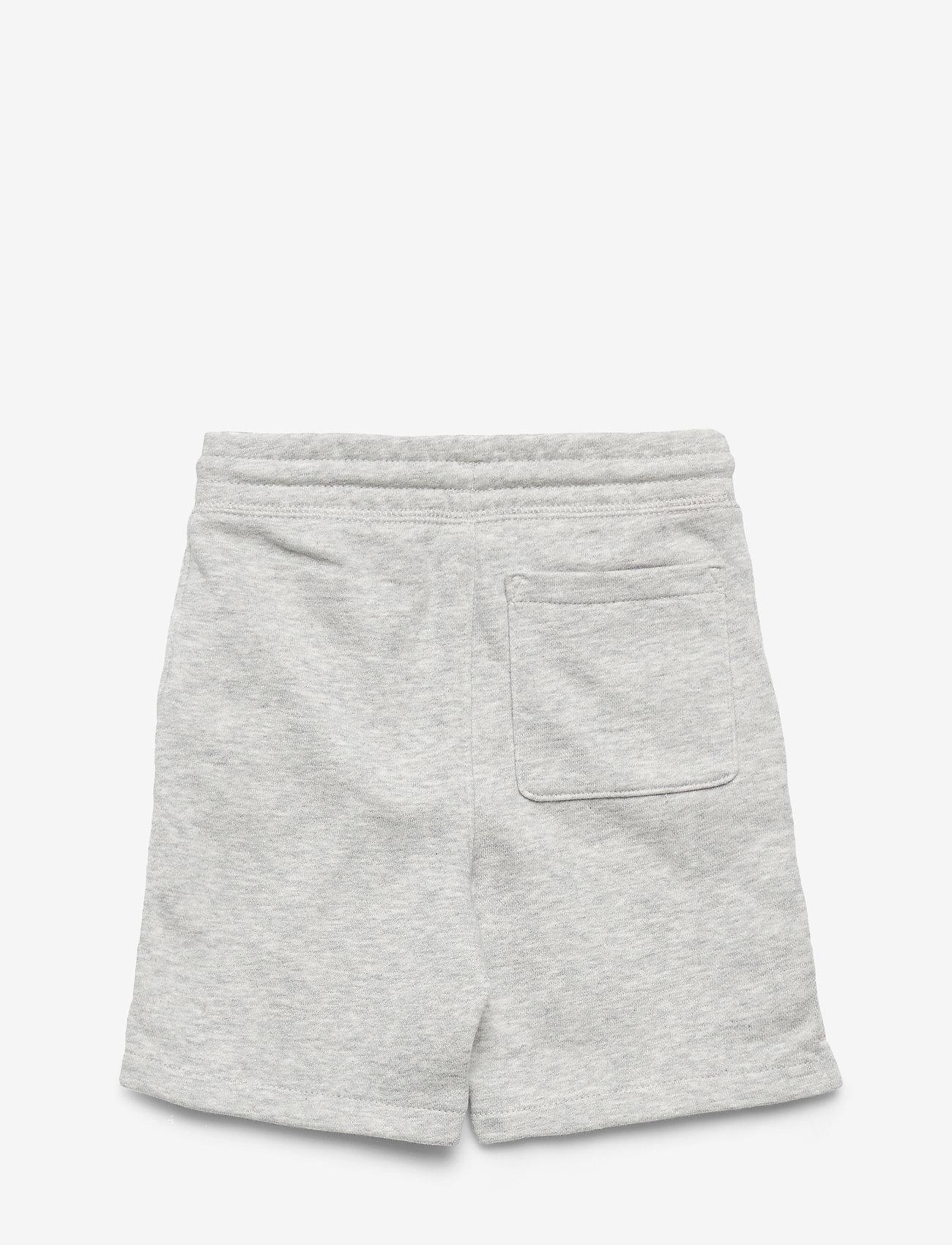 GAP - HS FT LOGO SHORT - shorts - light grey heather - 1