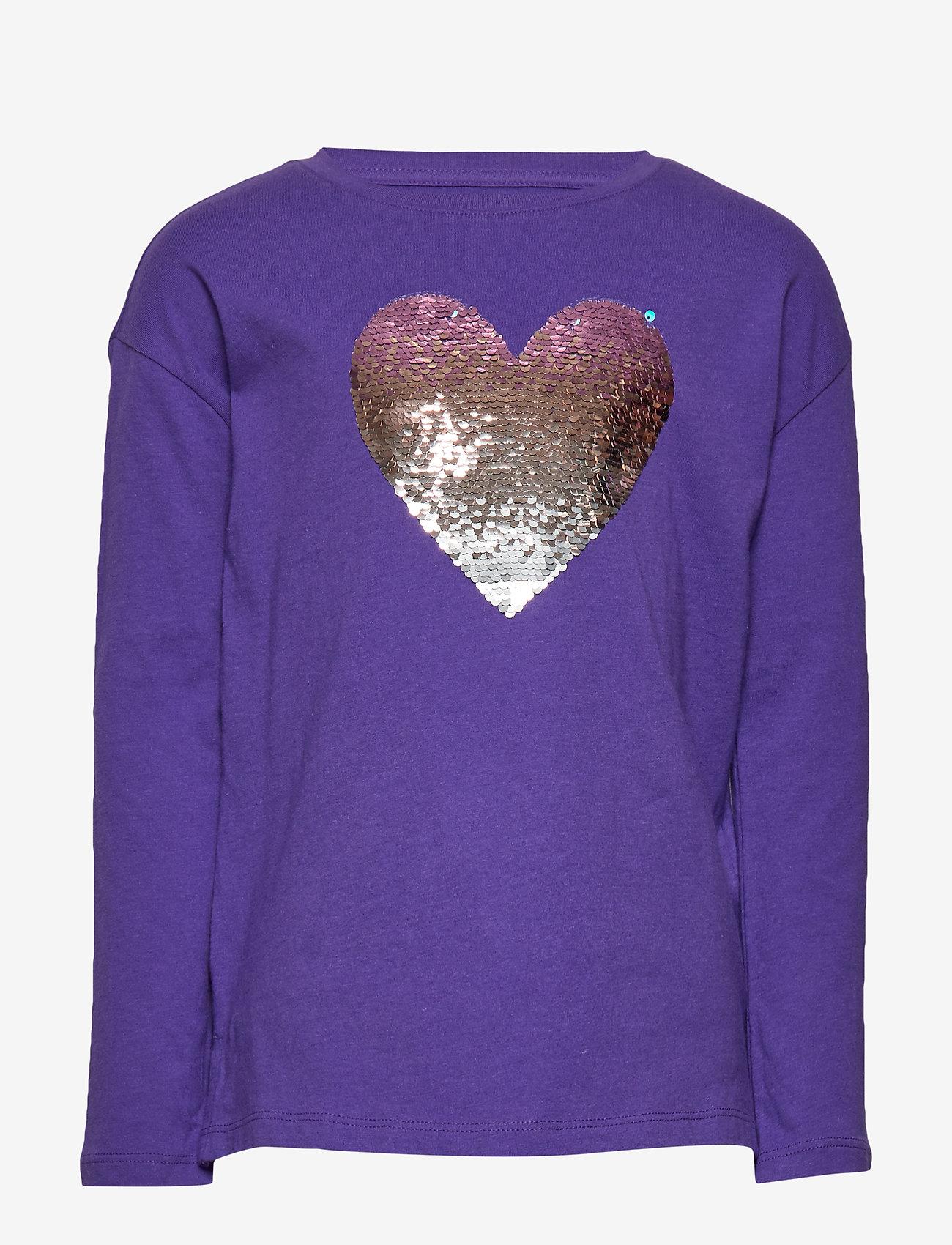 GAP - Kids Interactive Graphic T-Shirt - lange mouwen - ultraviolet 18-3838 tc - 0