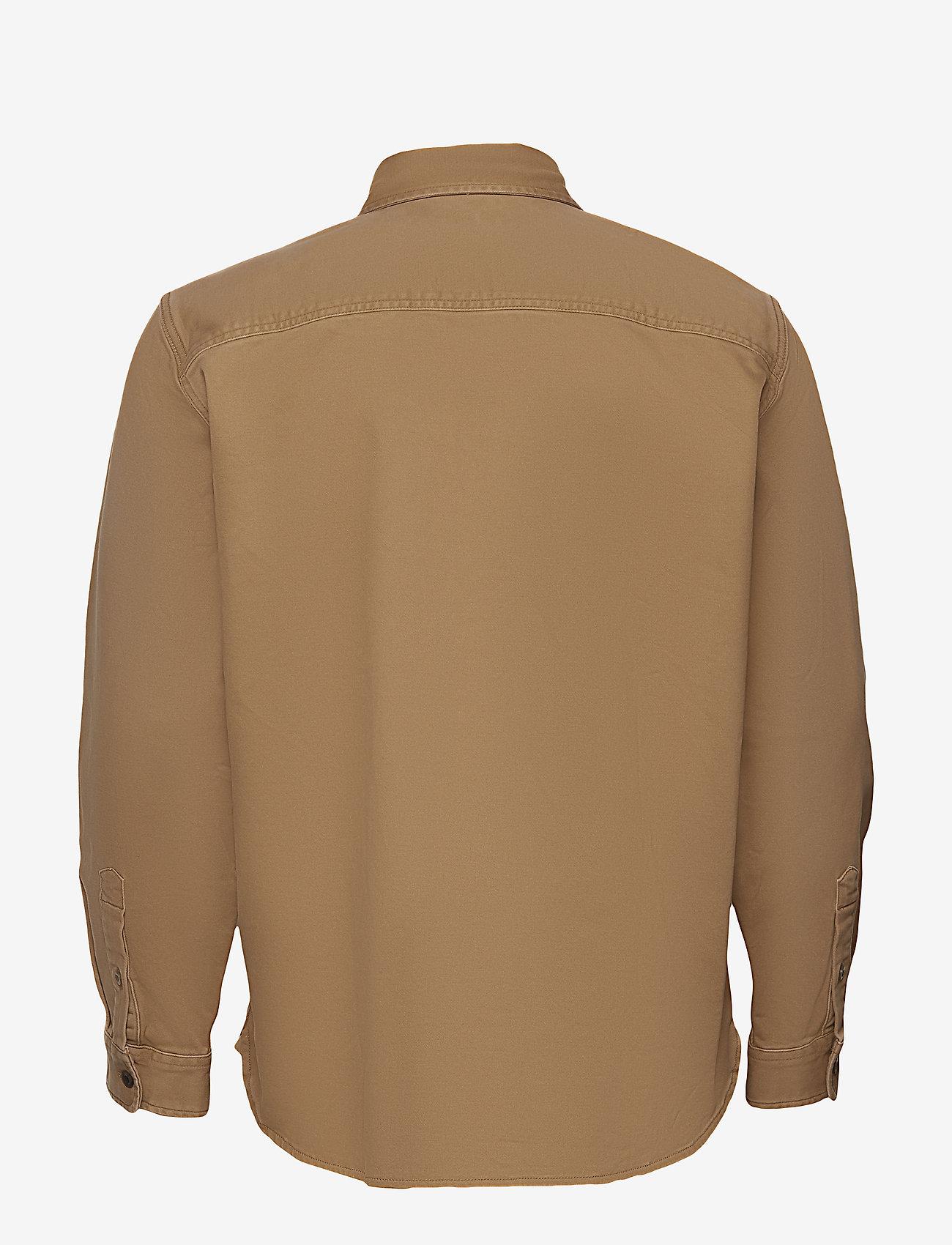GAP Lightweight Shirt Jacket - Jakker og frakker KHAKI TWILL - Menn Klær