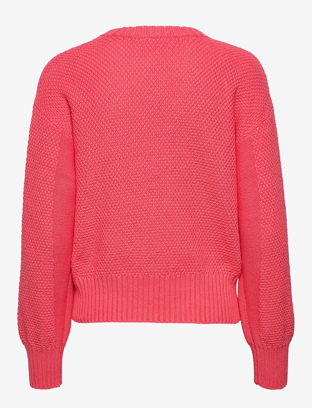 Mix-stitch Crewneck Sweater (Fresh Coral) - GAP 0vHjRS