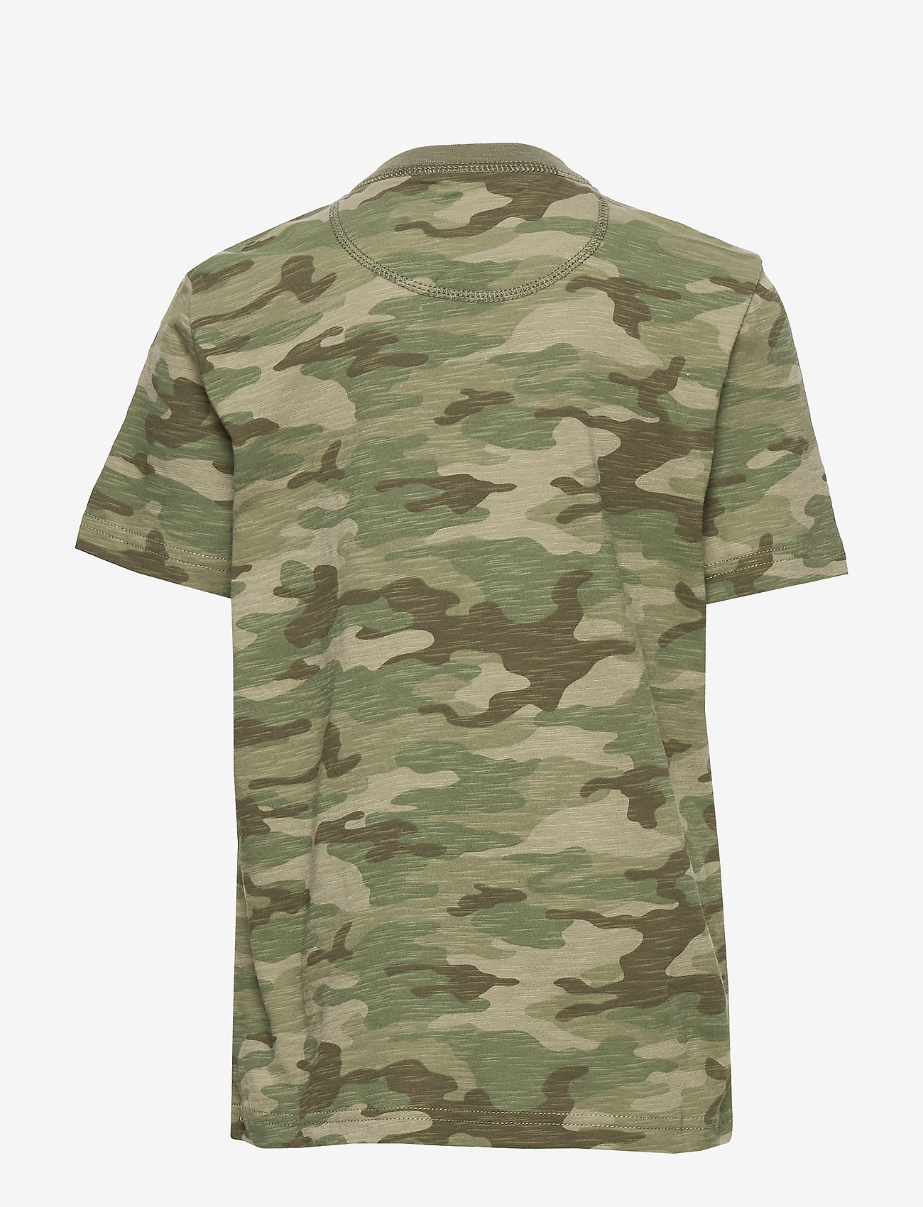 Gap Kids Henley T-shirt - Överdelar Green Camo