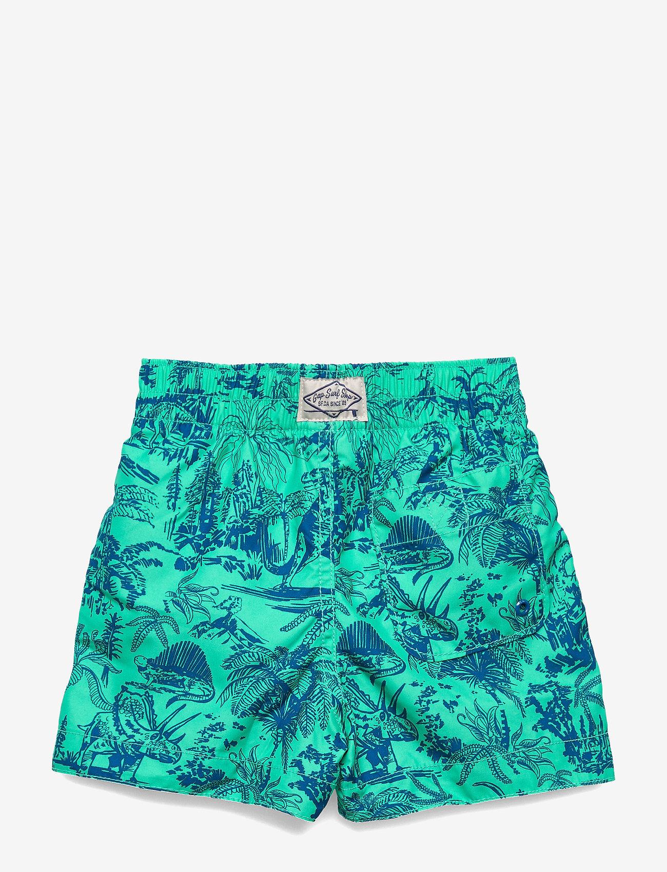Gap Toddler Dino Swim Trunks - Badkläder Siren Green 287