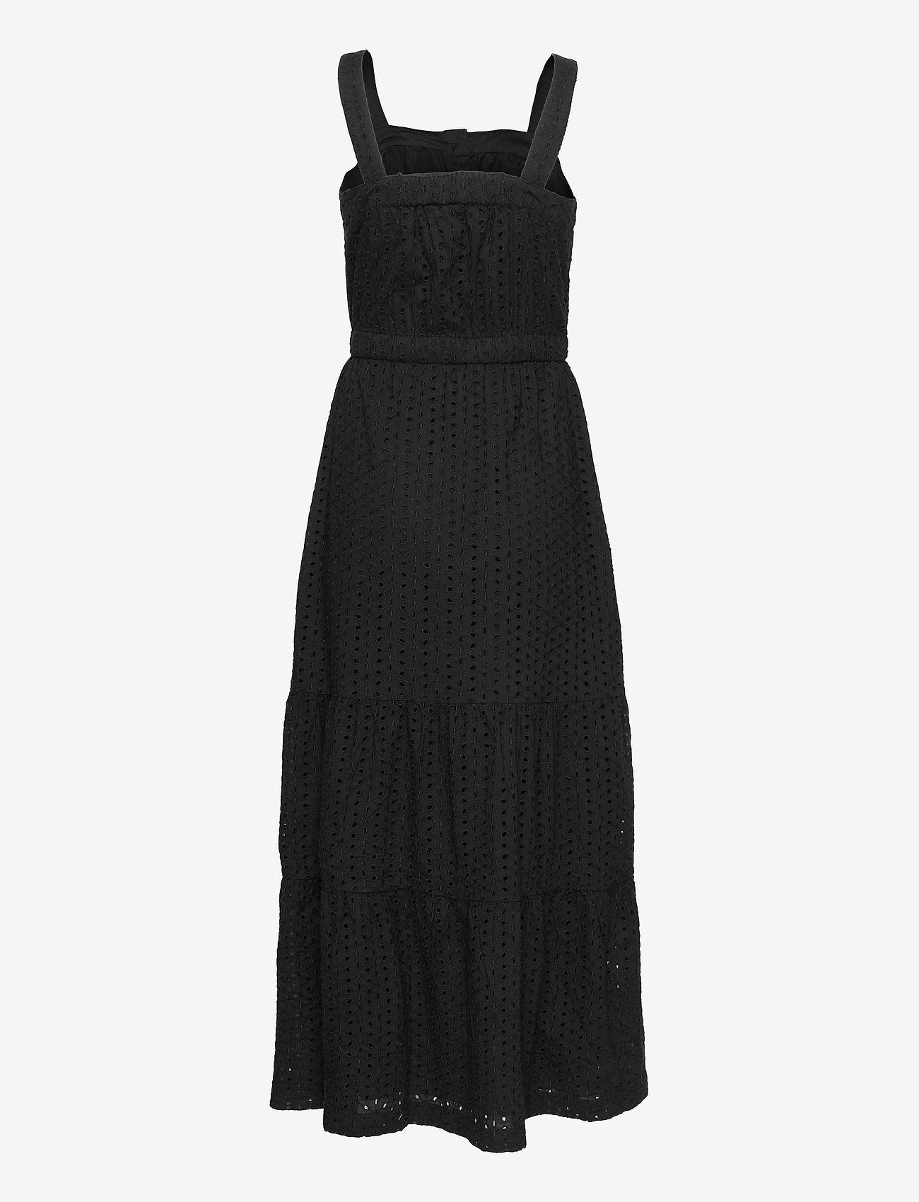 GAP - Apron Maxi Dress - everyday dresses - true black v2 3 - 1