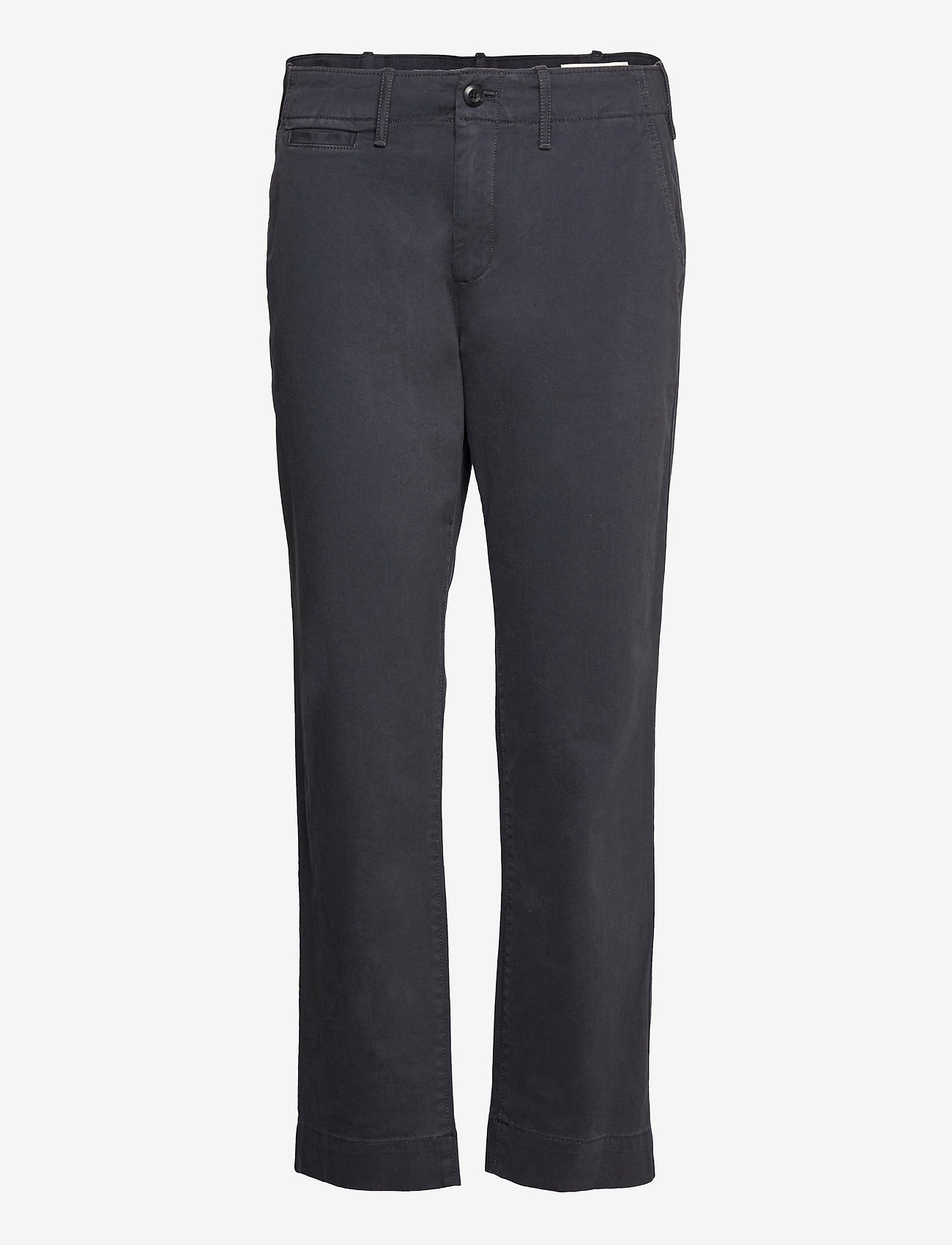 GAP - High Rise Straight Khakis with Washwell™ - chinos - spring night - 0